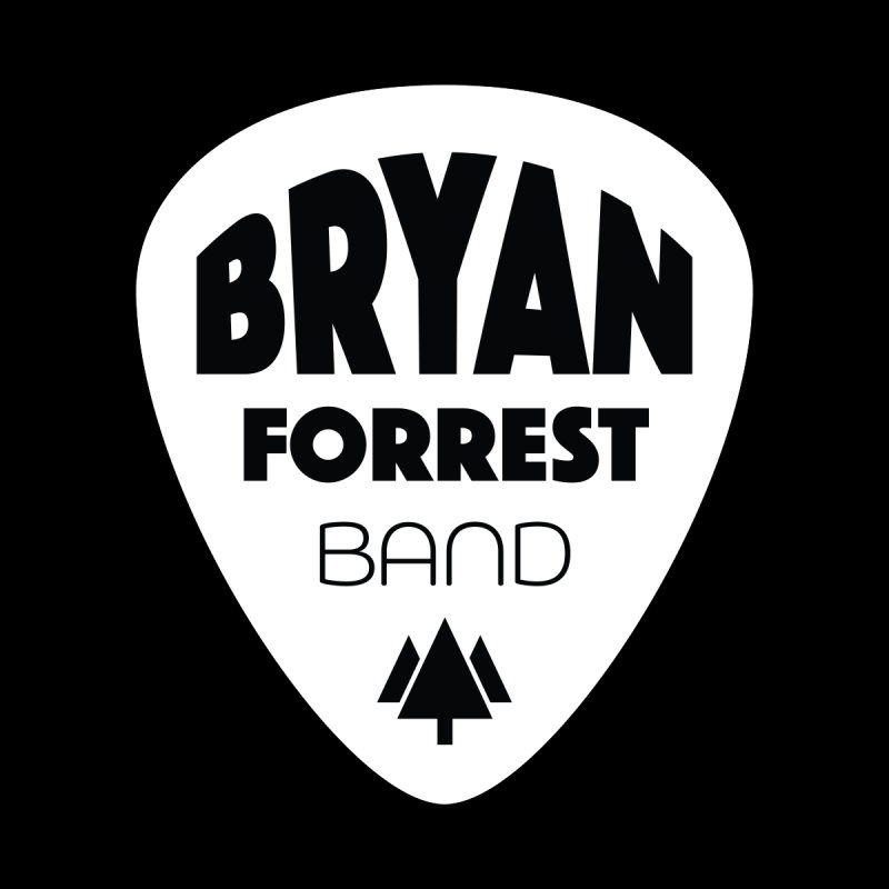 BFBand Logo: Dark Background Accessories Magnet by Bearded Bee Designs
