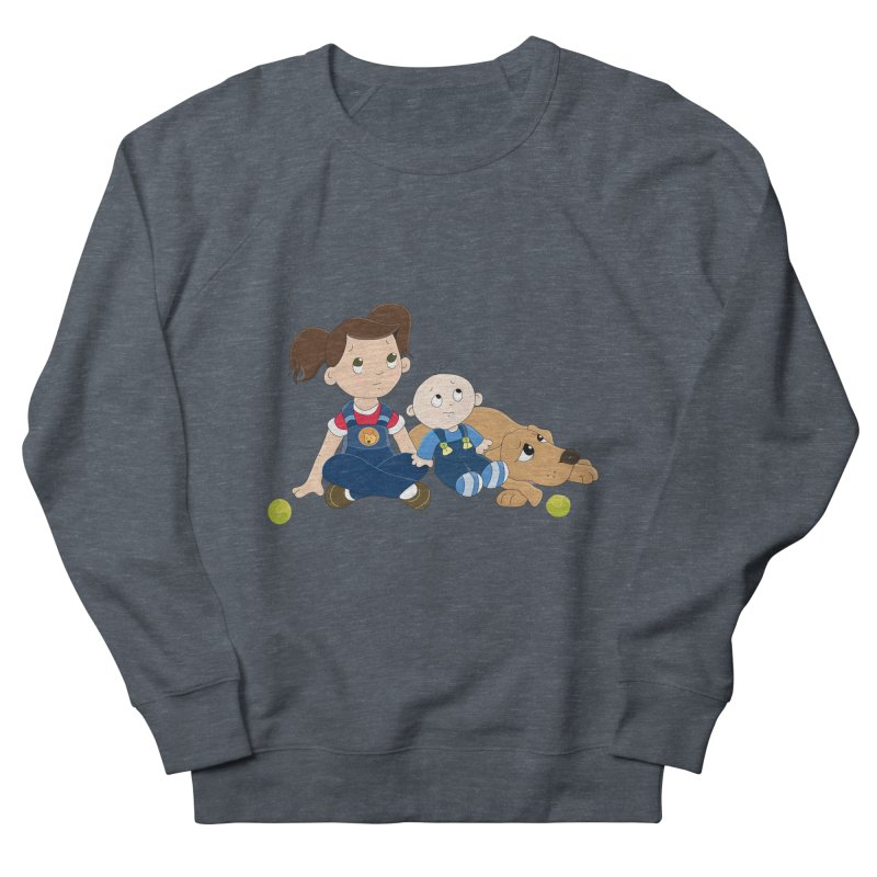 Millie and baby Max- Triple Trouble Women's Sweatshirt by