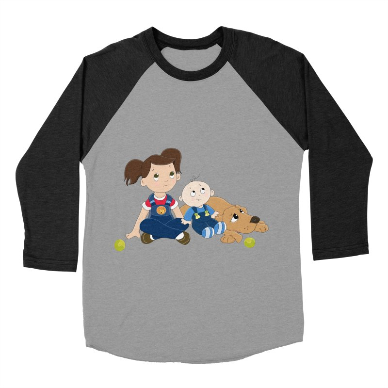 Millie and baby Max- Triple Trouble Women's Baseball Triblend T-Shirt by