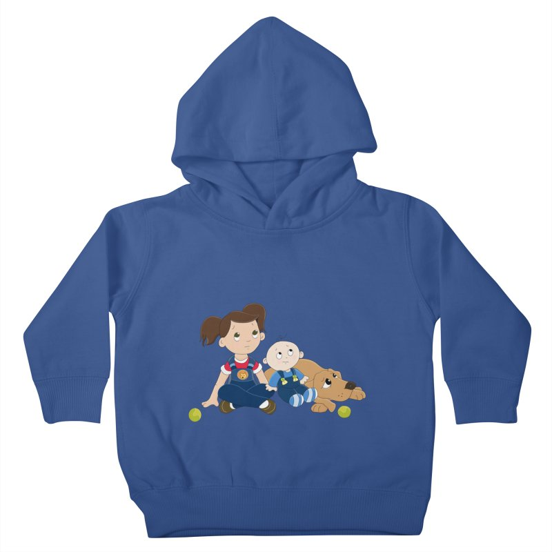Millie and baby Max- Triple Trouble Kids Toddler Pullover Hoody by