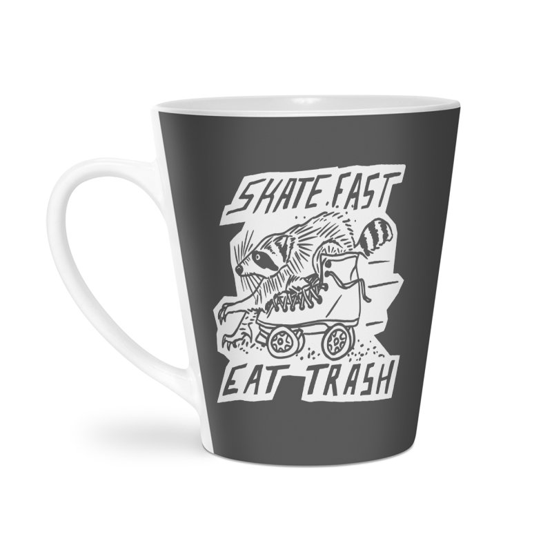 SKATE FAST EAT TRASH Reverse Accessories Mug by Bull City Roller Derby Shop
