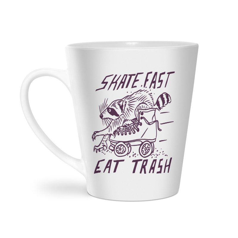 SKATE FAST EAT TRASH Accessories Mug by Bull City Roller Derby Shop