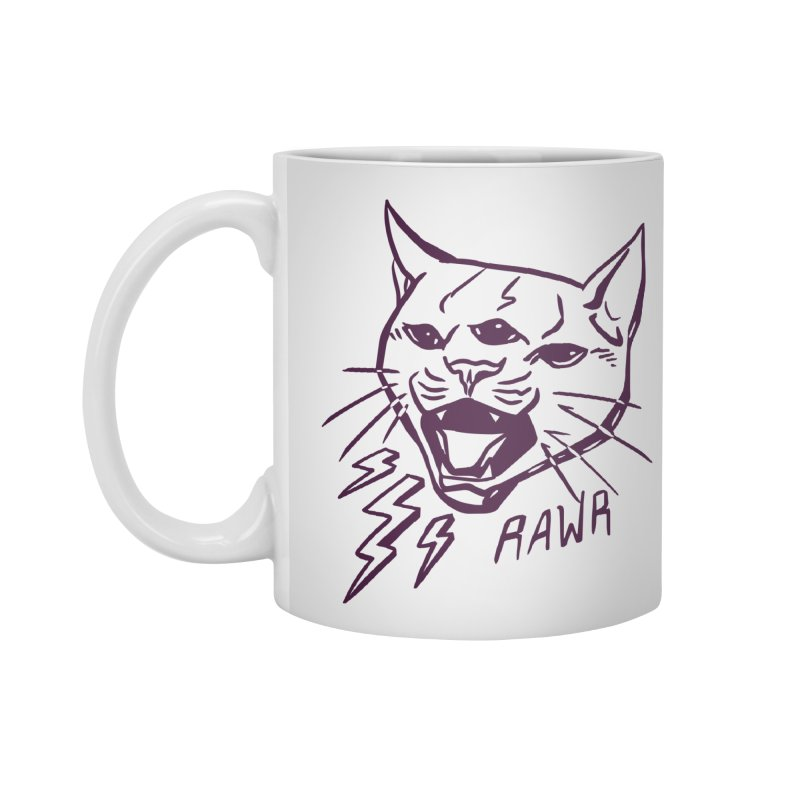 THUNDERCAT HOOOO! Accessories Standard Mug by Bull City Roller Derby Shop