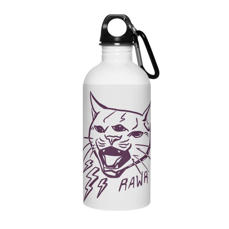THUNDERCAT HOOOO! Accessories Water Bottle by Bull City Roller Derby Shop