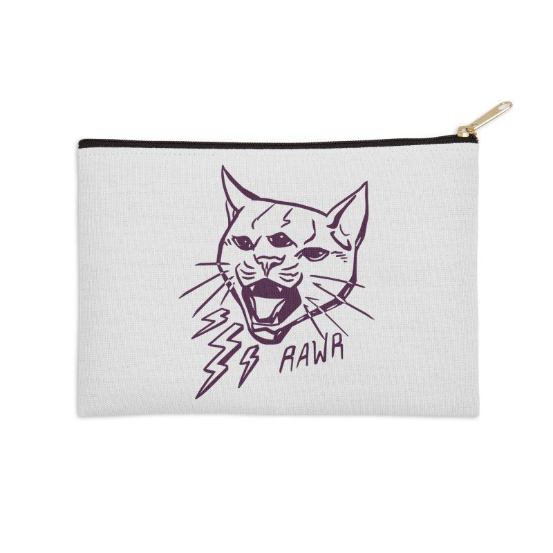 THUNDERCAT HOOOO! Accessories Zip Pouch by Bull City Roller Derby Shop