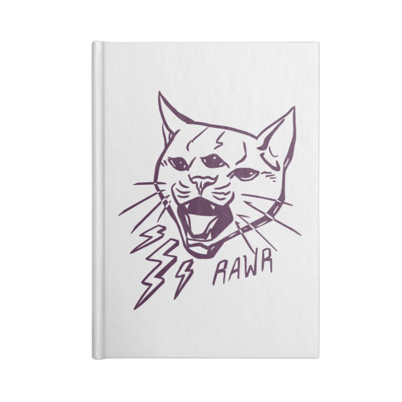 THUNDERCAT HOOOO! Accessories Lined Journal Notebook by Bull City Roller Derby Shop