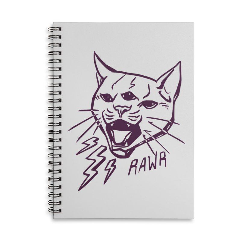 THUNDERCAT HOOOO! Accessories Lined Spiral Notebook by Bull City Roller Derby Shop