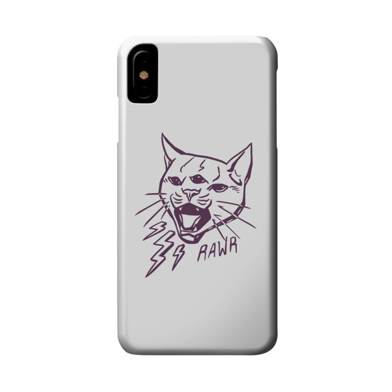 THUNDERCAT HOOOO! Accessories Phone Case by Bull City Roller Derby Shop