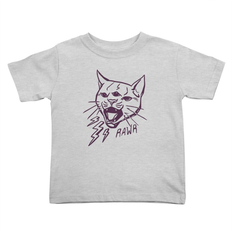 THUNDERCAT HOOOO! Kids Toddler T-Shirt by Bull City Roller Derby Shop