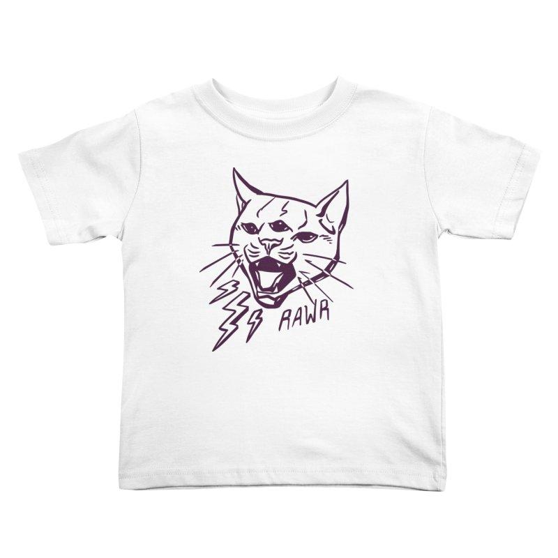THUNDERCAT HOOOO! Kids Toddler T-Shirt by Bull City Roller Derby Shop