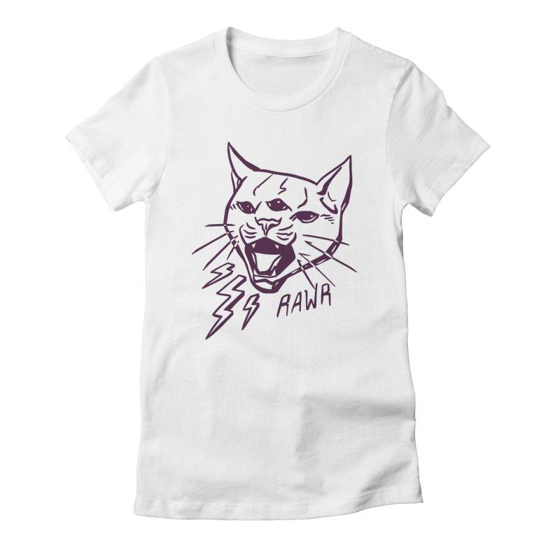THUNDERCAT HOOOO! Women's T-Shirt by Bull City Roller Derby Shop