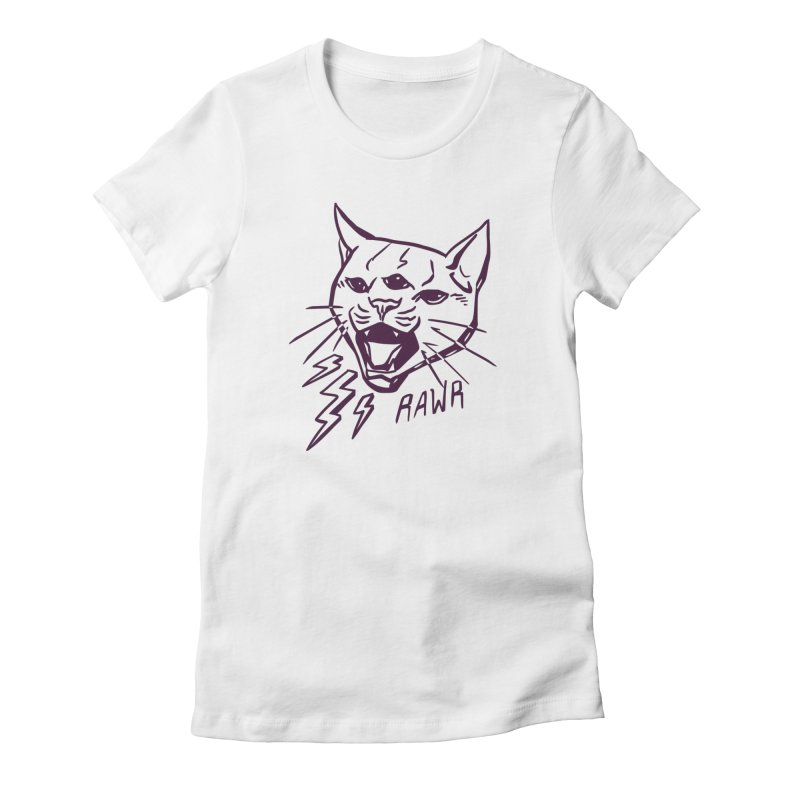 THUNDERCAT HOOOO! Women's T-Shirt by Bull City Roller Derby Shop