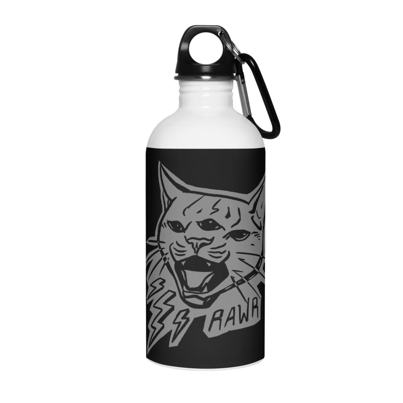 THUNDERCAT HOOOO! Reverse Accessories Water Bottle by Bull City Roller Derby Shop