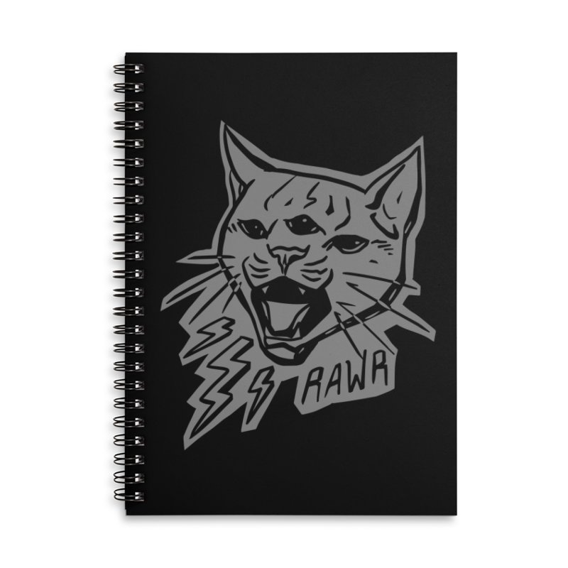 THUNDERCAT HOOOO! Reverse Accessories Notebook by Bull City Roller Derby Shop