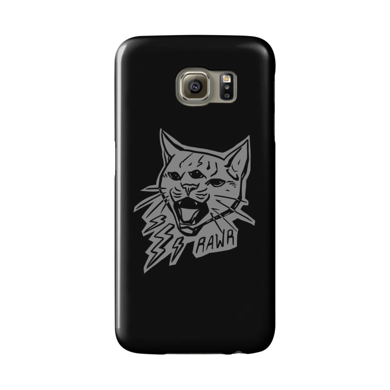 THUNDERCAT HOOOO! Reverse Accessories Phone Case by Bull City Roller Derby Shop