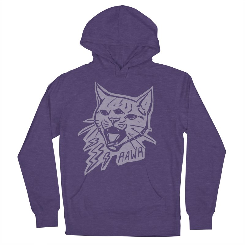 THUNDERCAT HOOOO! Reverse Women's French Terry Pullover Hoody by Bull City Roller Derby Shop
