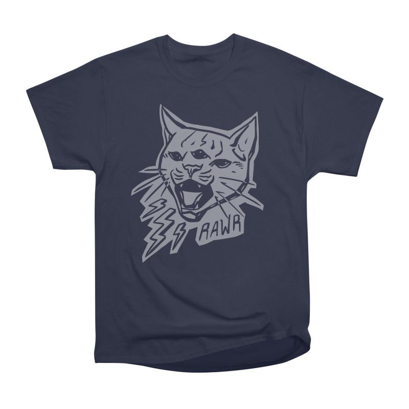 THUNDERCAT HOOOO! Reverse Men's Heavyweight T-Shirt by Bull City Roller Derby Shop
