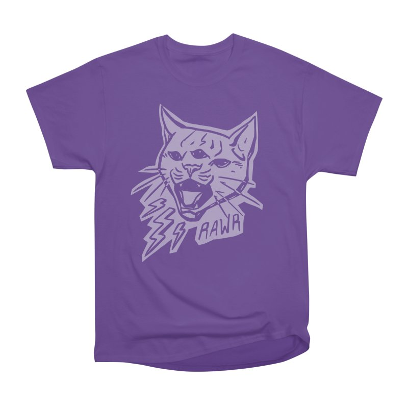 THUNDERCAT HOOOO! Reverse Women's Heavyweight Unisex T-Shirt by Bull City Roller Derby Shop