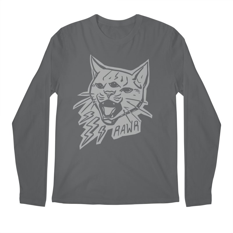 THUNDERCAT HOOOO! Reverse Men's Regular Longsleeve T-Shirt by Bull City Roller Derby Shop