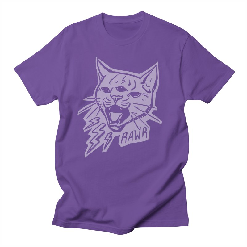 THUNDERCAT HOOOO! Reverse Men's Regular T-Shirt by Bull City Roller Derby Shop