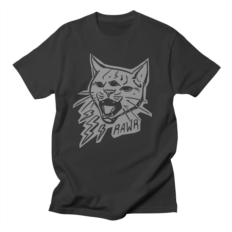 THUNDERCAT HOOOO! Reverse Men's T-Shirt by Bull City Roller Derby Shop
