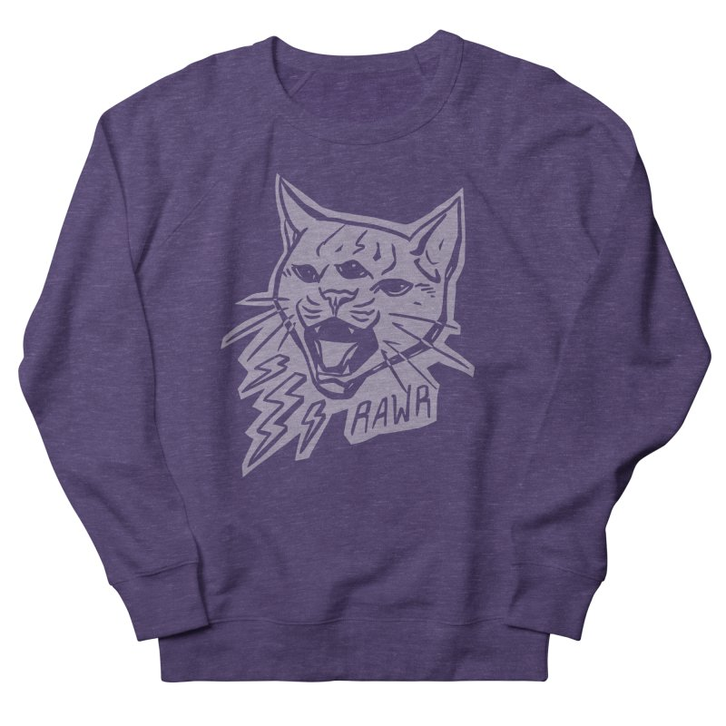 THUNDERCAT HOOOO! Reverse Women's French Terry Sweatshirt by Bull City Roller Derby Shop