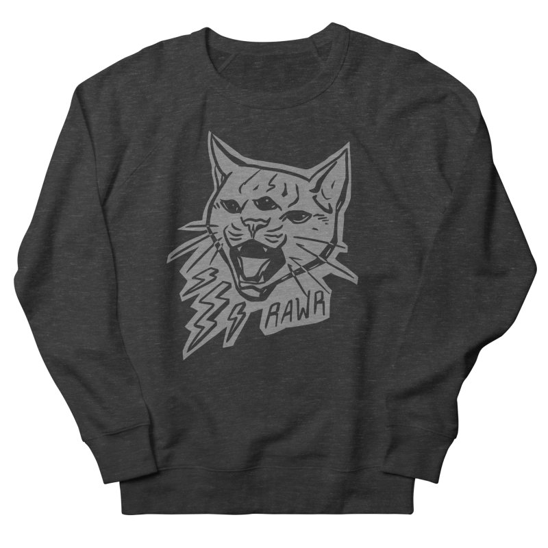 THUNDERCAT HOOOO! Reverse Men's French Terry Sweatshirt by Bull City Roller Derby Shop