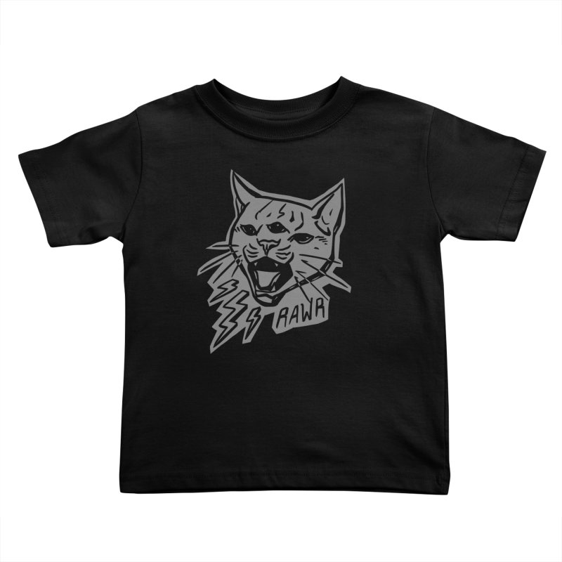 THUNDERCAT HOOOO! Reverse Kids Toddler T-Shirt by Bull City Roller Derby Shop