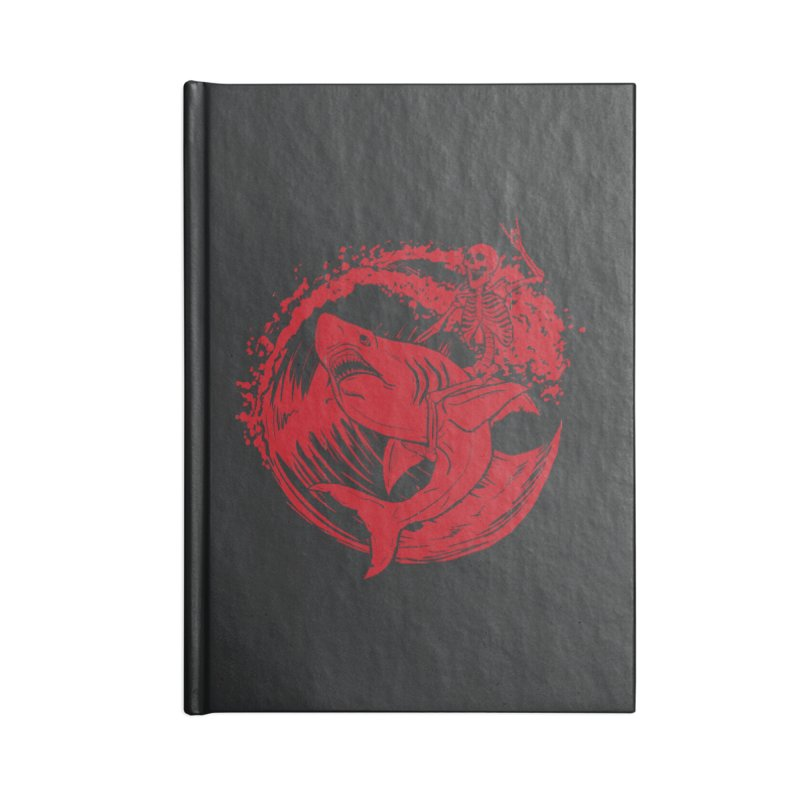 SURF'S UP Accessories Lined Journal Notebook by Bull City Roller Derby Shop