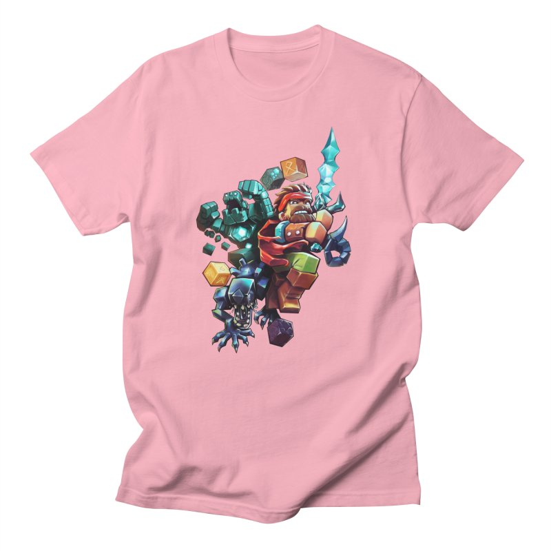 BDcraft Hero, Golem and Alien Women's T-Shirt by BDcraft Shop