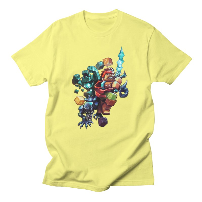 BDcraft Hero, Golem and Alien Men's T-Shirt by BDcraft Shop