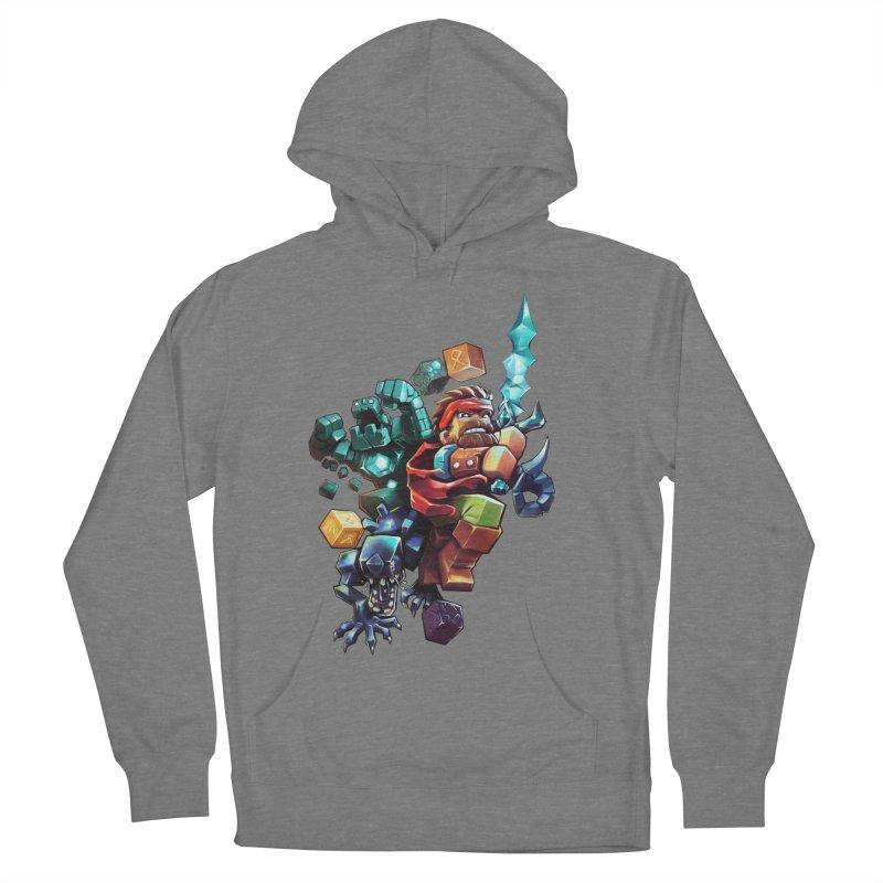 BDcraft Hero, Golem and Alien Women's Pullover Hoody by BDcraft Shop