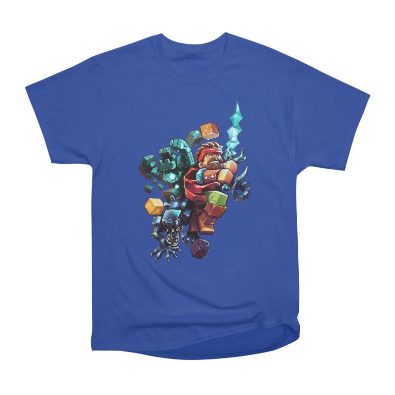 BDcraft Hero, Golem and Alien Women's Heavyweight Unisex T-Shirt by BDcraft Shop