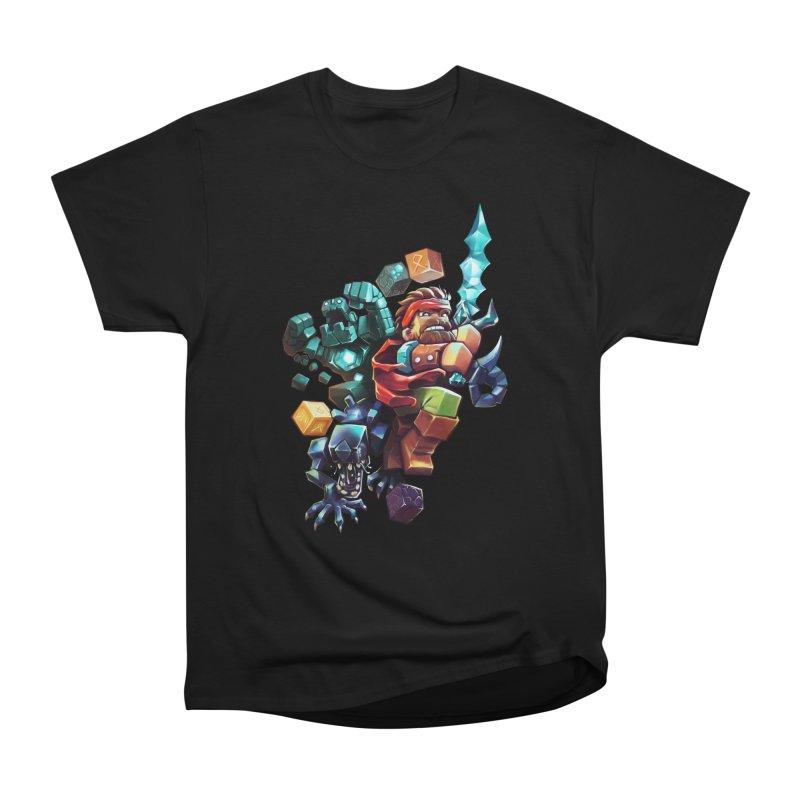 BDcraft Hero, Golem and Alien Men's Heavyweight T-Shirt by BDcraft Shop