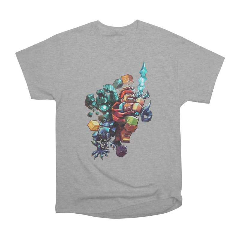 BDcraft Hero, Golem and Alien Women's Heavyweight Unisex T-Shirt by BDcraft Shop