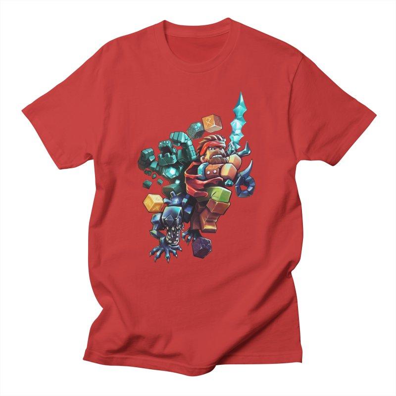 BDcraft Hero, Golem and Alien Women's Regular Unisex T-Shirt by BDcraft Shop