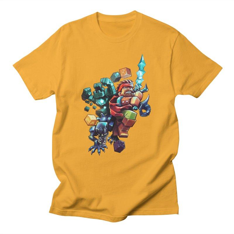 BDcraft Hero, Golem and Alien Men's Regular T-Shirt by BDcraft Shop
