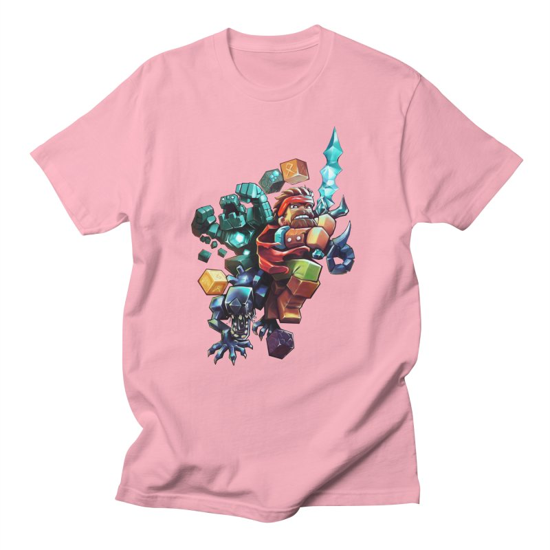 BDcraft Hero, Golem and Alien Men's Regular T-Shirt by BDcraft Shop