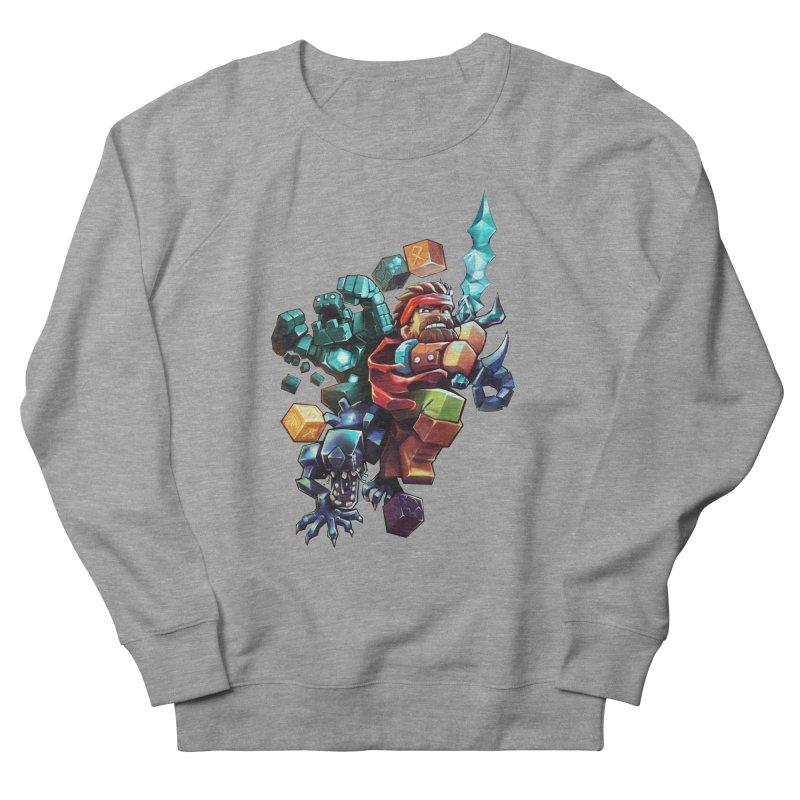 BDcraft Hero, Golem and Alien Women's French Terry Sweatshirt by BDcraft Shop