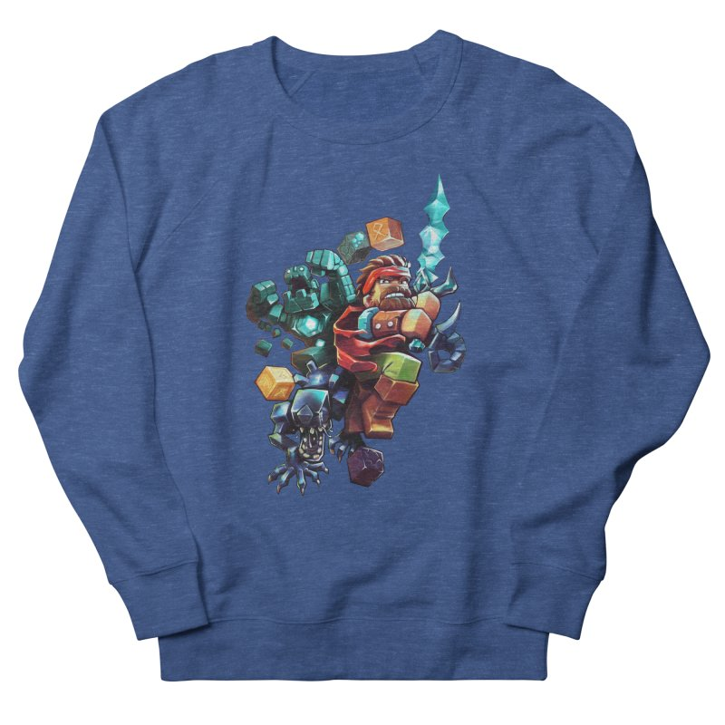 BDcraft Hero, Golem and Alien Men's Sweatshirt by BDcraft Shop