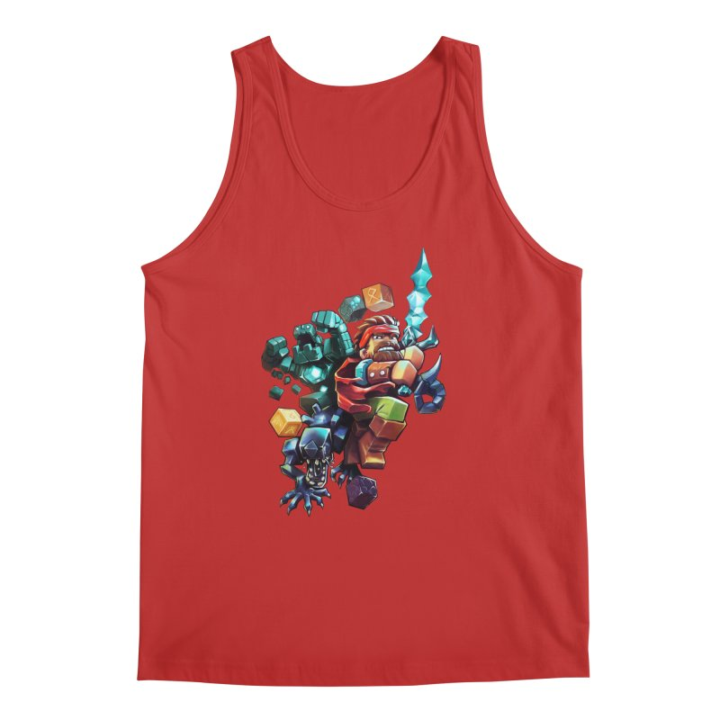 BDcraft Hero, Golem and Alien Men's Regular Tank by BDcraft Shop