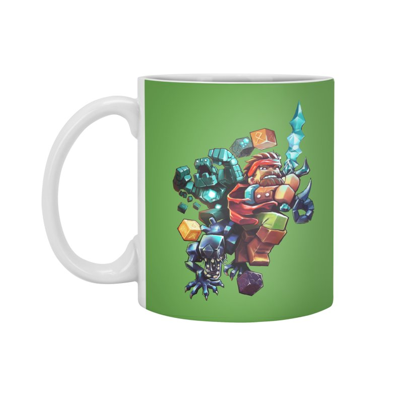 BDcraft Hero, Golem and Alien Accessories Standard Mug by BDcraft Shop