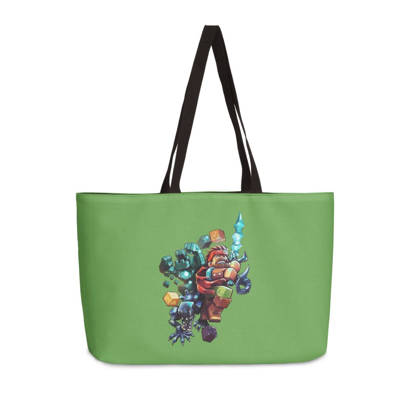 BDcraft Hero, Golem and Alien Accessories Weekender Bag Bag by BDcraft Shop