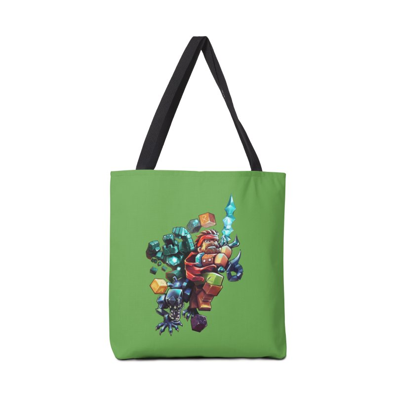 BDcraft Hero, Golem and Alien Accessories Tote Bag Bag by BDcraft Shop