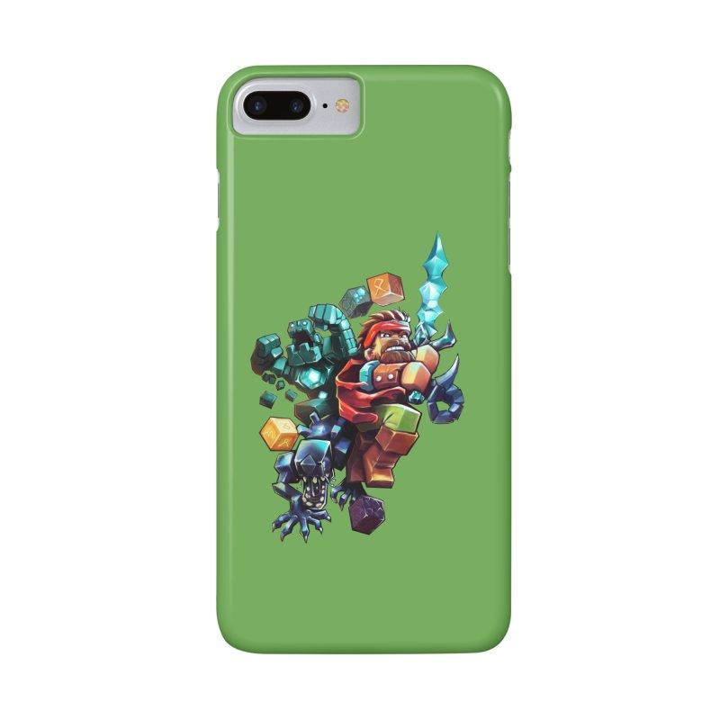 BDcraft Hero, Golem and Alien Accessories Phone Case by BDcraft Shop
