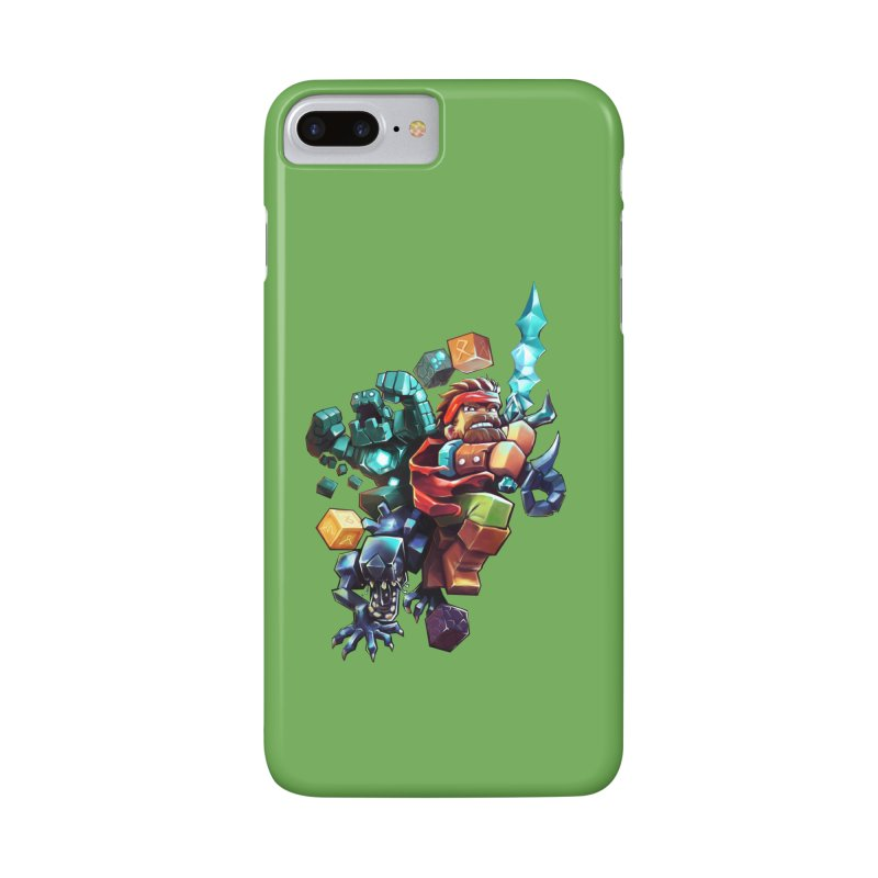 BDcraft Hero, Golem and Alien Accessories Phone Case by BDcraft Shop