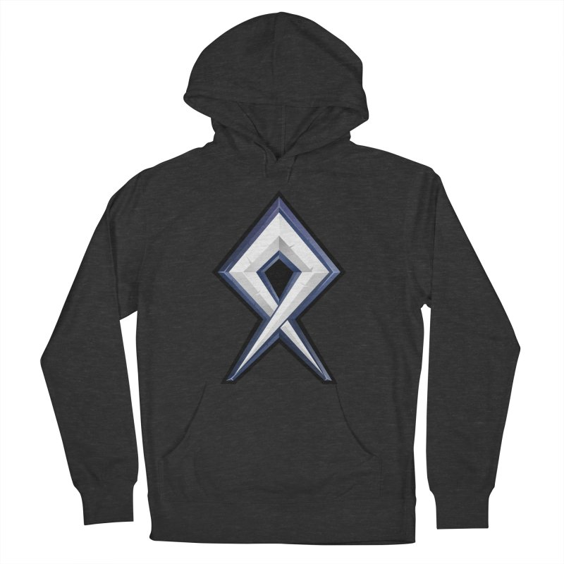 BDcraft Rune Men's French Terry Pullover Hoody by BDcraft Shop