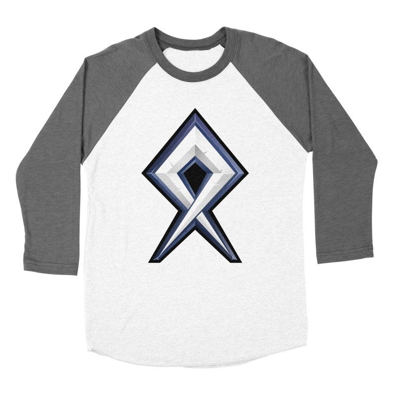 BDcraft Rune Women's Baseball Triblend Longsleeve T-Shirt by BDcraft Shop