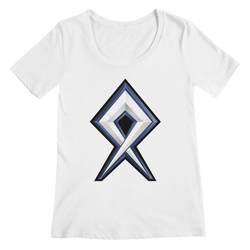 BDcraft Rune Women's Regular Scoop Neck by BDcraft Shop