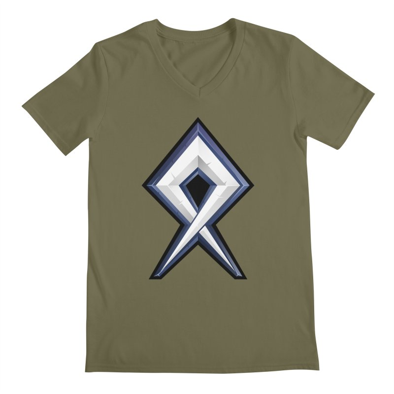 BDcraft Rune Men's Regular V-Neck by BDcraft Shop